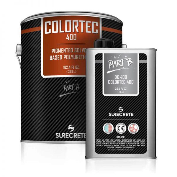 Colored Solvent-Based Polyurethane   ColorTec 400